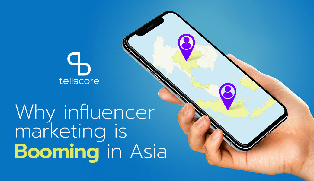 Why influencer marketing is booming in Asia